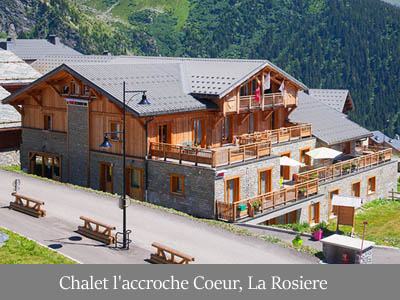 ubytovanie Chalet l'accroche Coeur, La Rosiére